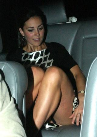 Foto Upskirt Kate Middleton