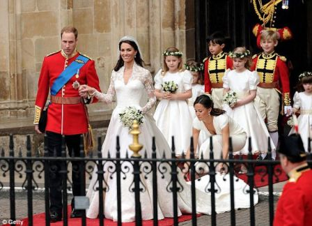 Pernikahan Pangeran William dan Kate Middleton 3