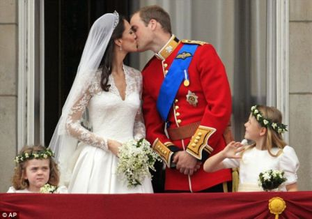 Pernikahan Pangeran William dan Kate Middleton 4