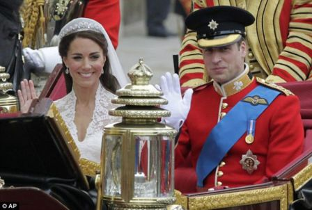 Pernikahan Pangeran William dan Kate Middleton