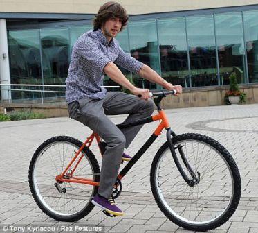 Sepeda Unik, Gokil Anti Maling -