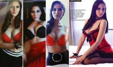 Chantal Della Concetta di Majalah FHM